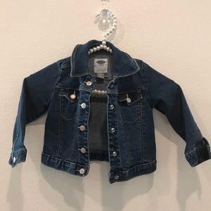 Old Navy Toddler Girls Denim Jacket Size 2T